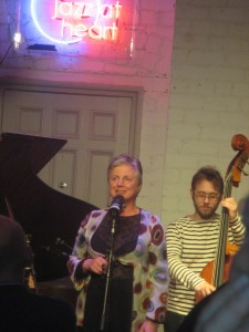 The Louise Gibbs Quartet at HEART 3.6.16.
